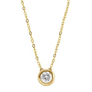 1/2 ct Diamond Solitaire Necklace