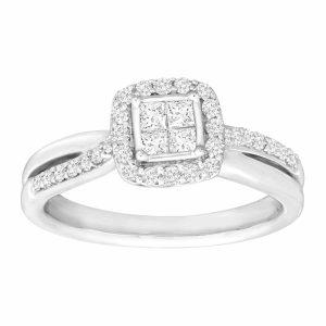 5/8 ct Diamond Pavé Ring