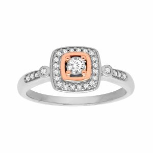 1/4 ct Vintage-Style Diamond Ring