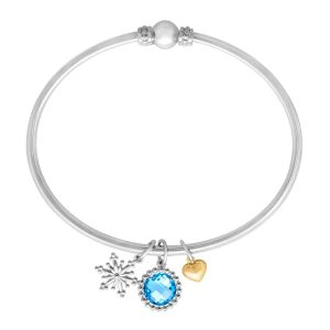 2 1/4 ct Swiss Blue Topaz Bracelet