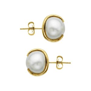 10mm Pearl Stud Earrings
