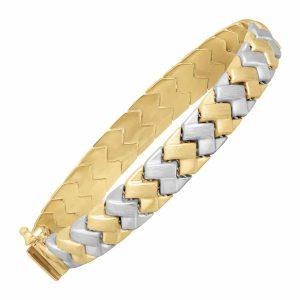Zigzag Link Bracelet