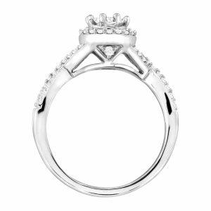 1/2 ct Diamond Engagement Ring