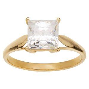 3 ct Cubic Zirconia Engagement Ring