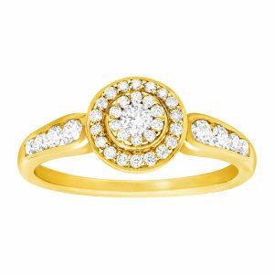 1/2 ct Diamond Circle Ring