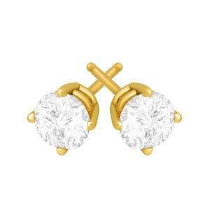 3/4 ct Diamond Stud Earrings